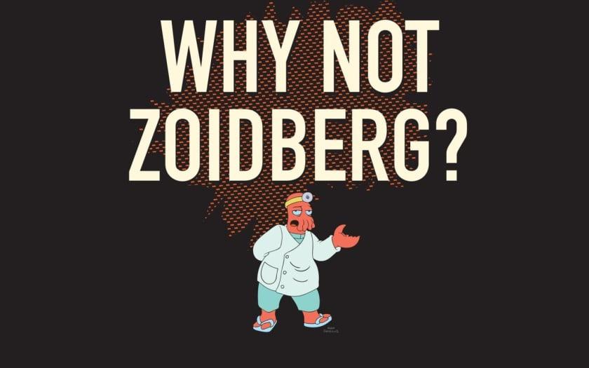 Fondo de escritorio Futurama Zoidberg