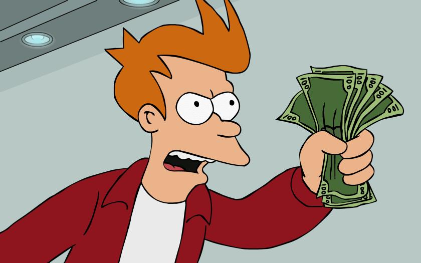 Fondo de escritorio Futurama Fry