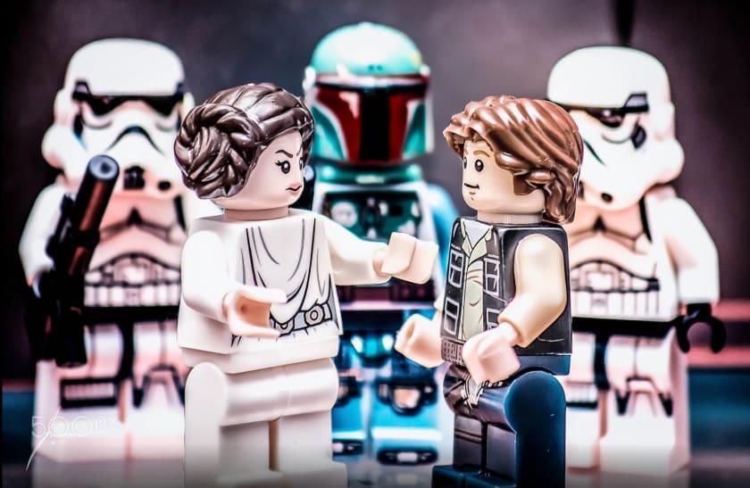 Fondo de escritorio de Lego Star Wars