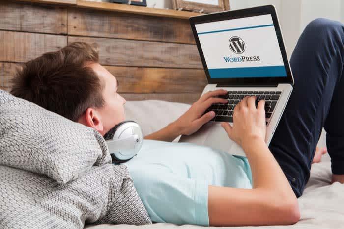 Working on WordPress