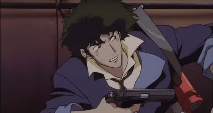Spike Spiegel shooting