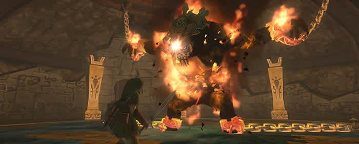 Zelda fire boss