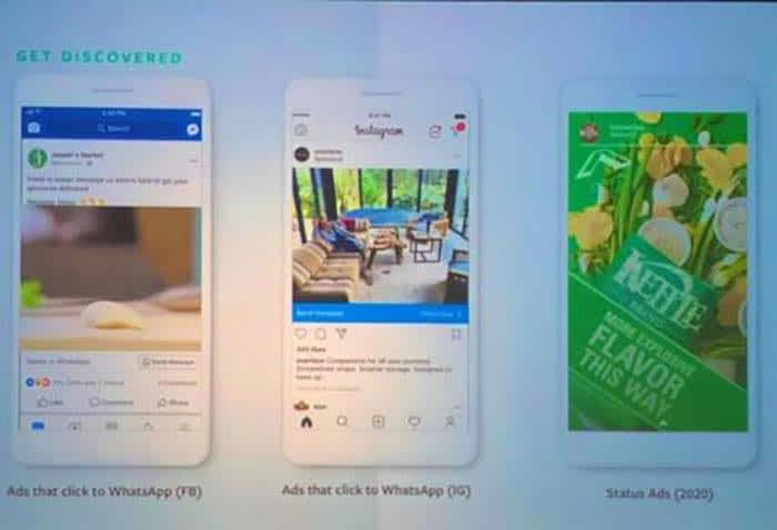 WhatsApp will start showing you ads in 2020