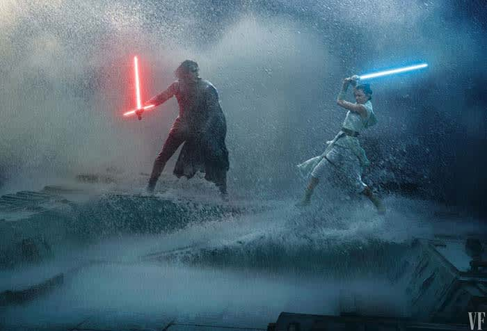 Rey vs Kylo