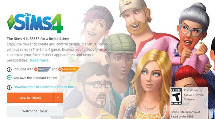 How to play The Sims 4 for free (legally!)