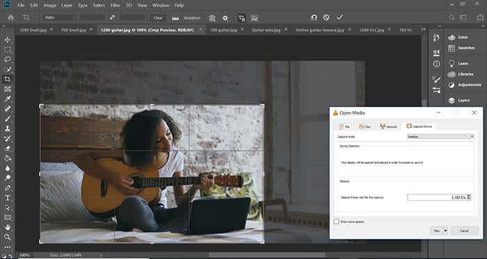 Capture photoshop tutorial