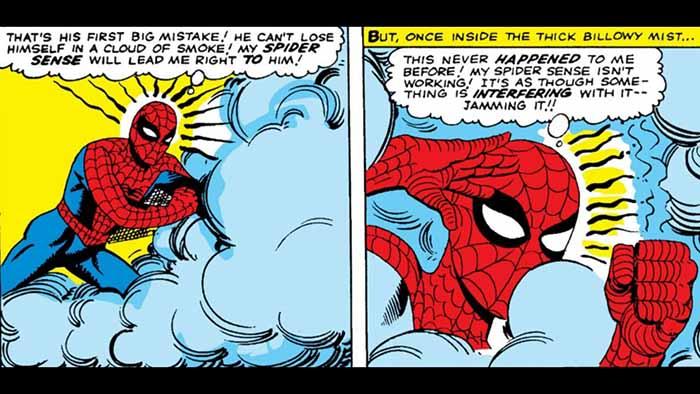 Spider-Man Spidey Sense