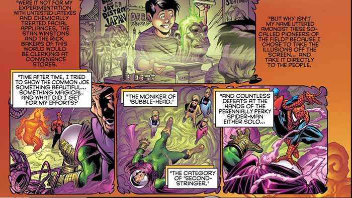 Mysterio personality