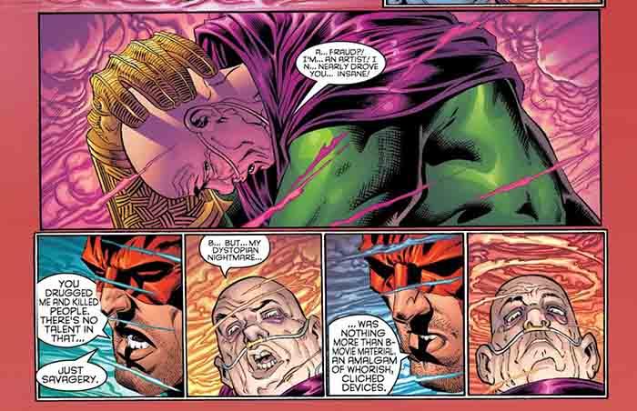 Mysterio loses