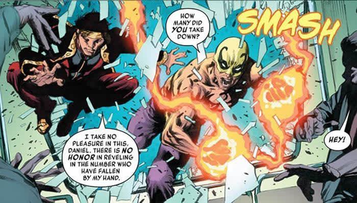 Iron Fist Shang Chi