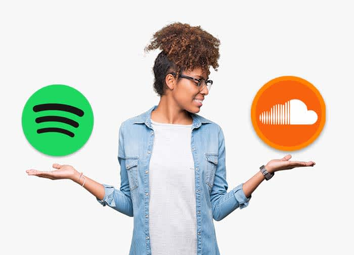 Spotify vs SoundCloud