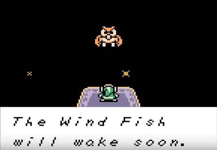 Zelda wind fish