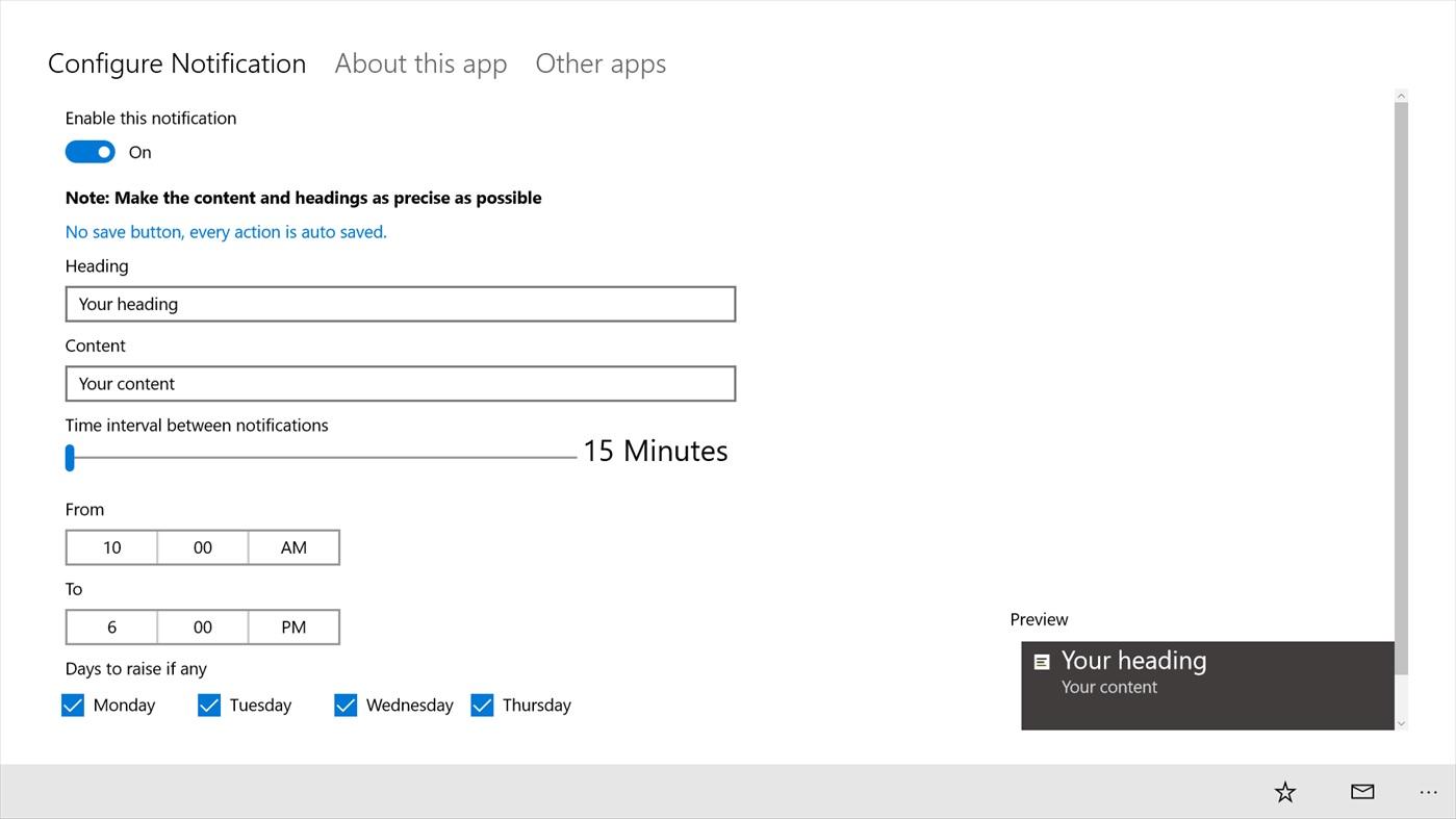 Windows 10: cómo crear alertas personalizadas