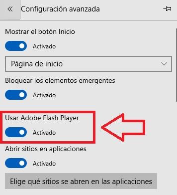 Cómo activar Adobe Flash