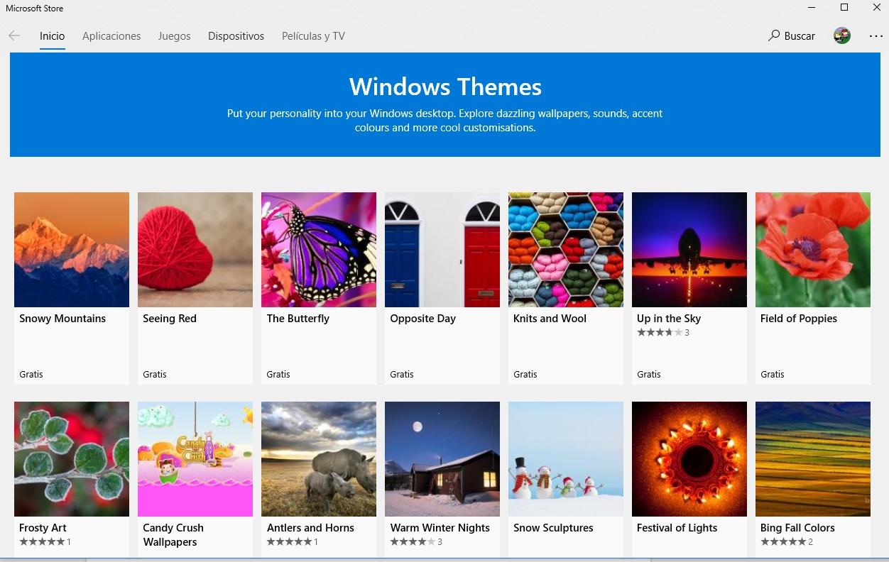 Cómo cambiar y descargar temas para Windows 10
