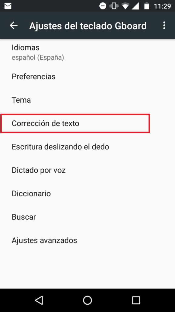 Cómo quitar el corrector de WhatsApp