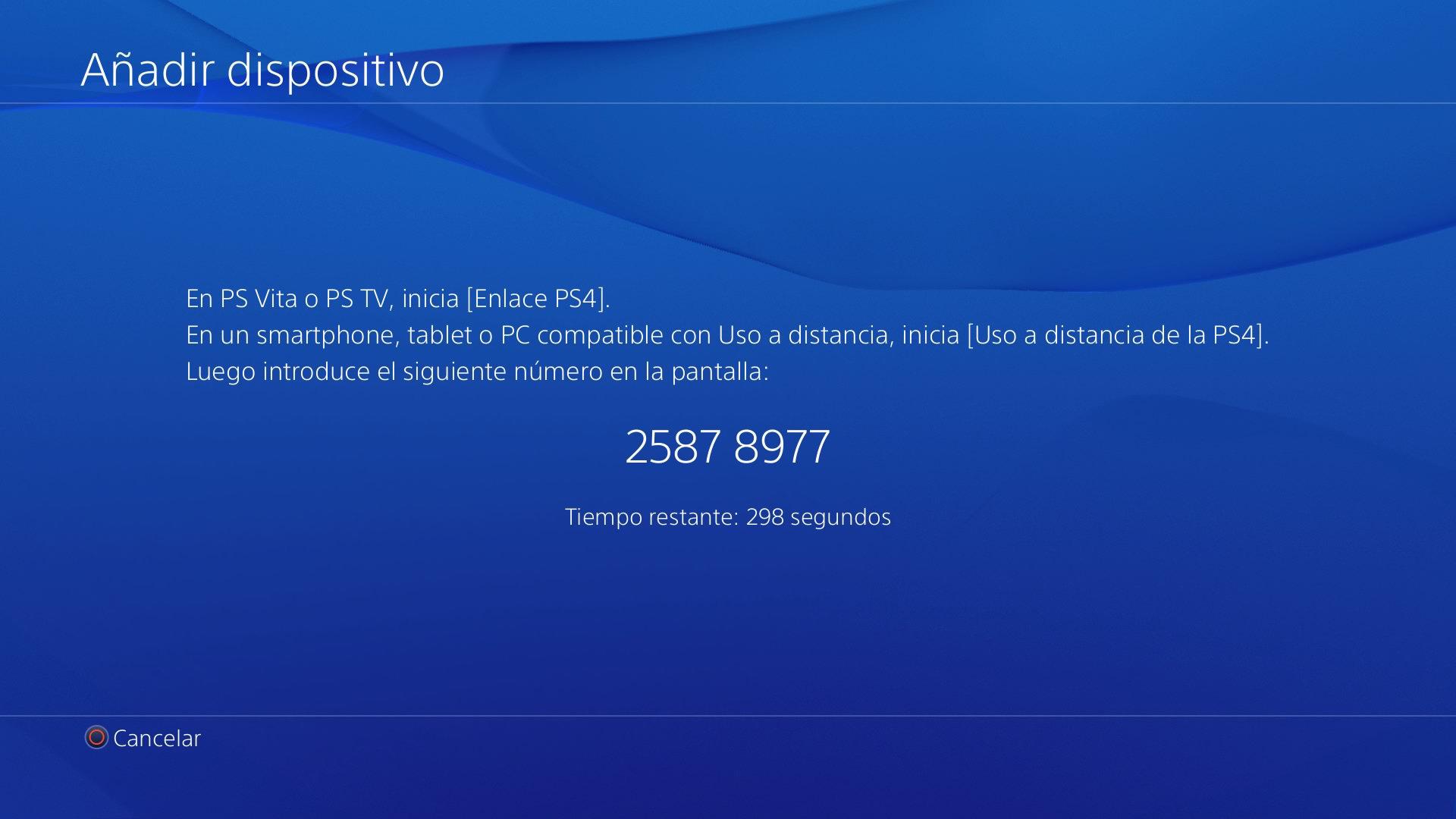 Guía paso a paso: Uso a distancia PS4
