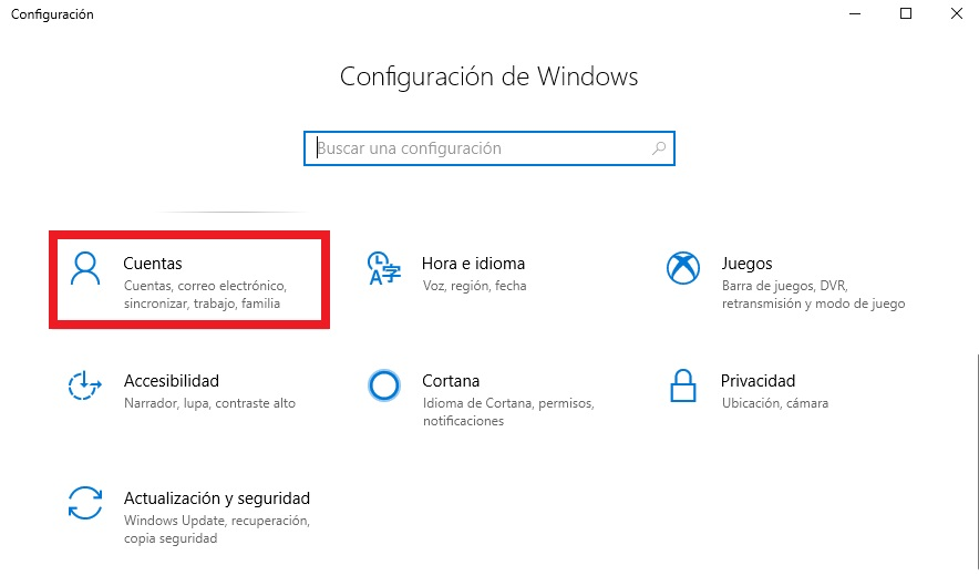 Cómo crear una cuenta de usuario: Windows 10