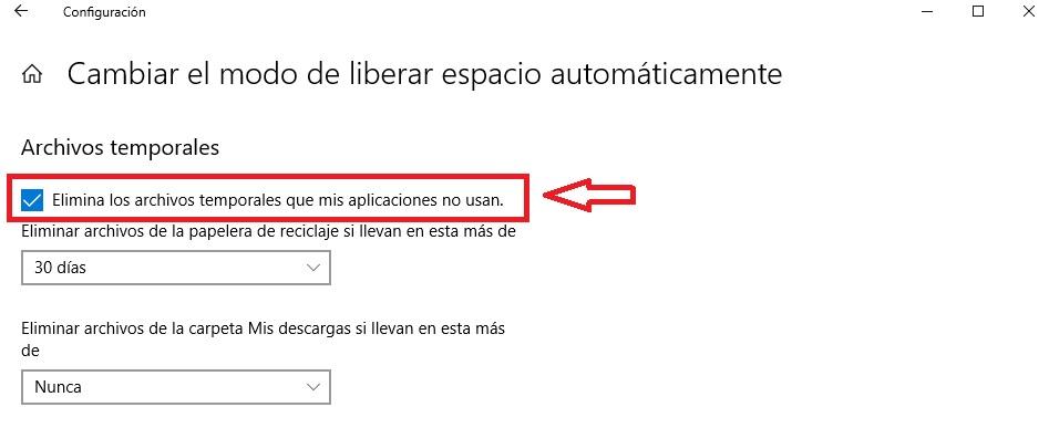 6 formas de liberar espacio: Windows 10