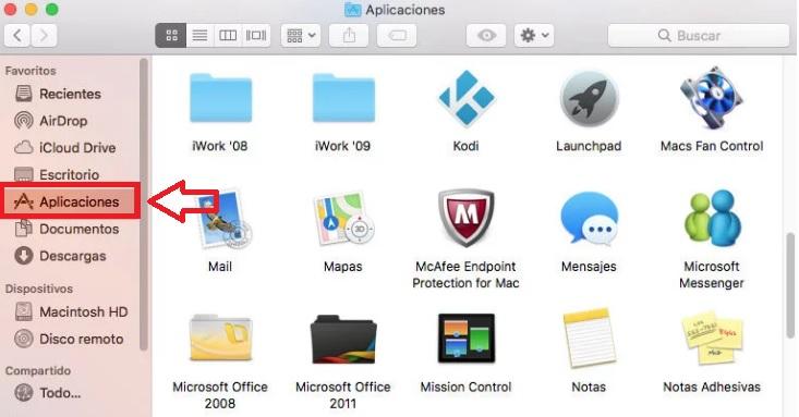 Cómo desinstalar programas en Mac