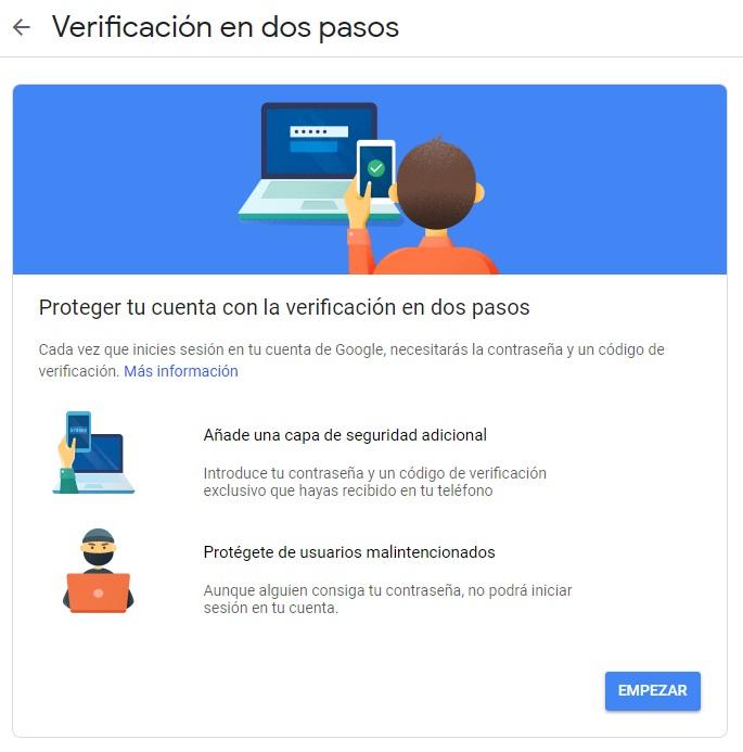 Tres consejos para evitar que entren intrusos en tu cuenta de Gmail