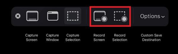 4 formas fáciles de grabar la pantalla en Mac