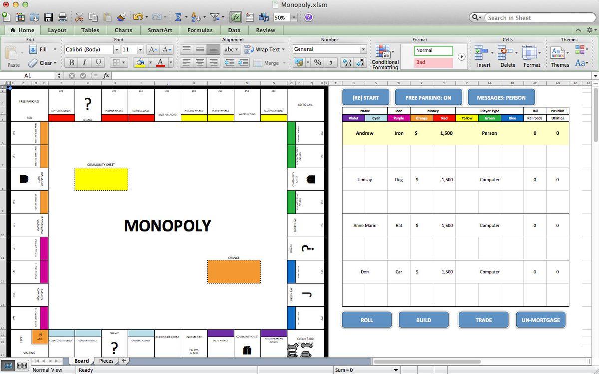 6 juegos de Excel gratis para no aburrirte