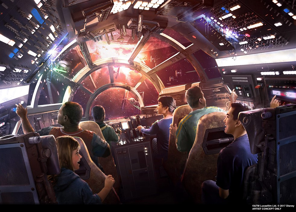 Millennium Falcon ride coming to Magic Kingdom