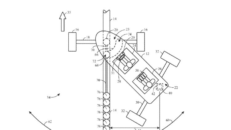 Mario Kart ride patent universal studios