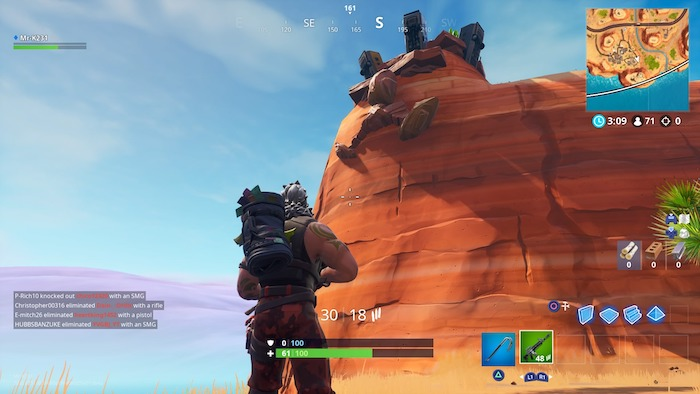 giant face in the snow fortnite