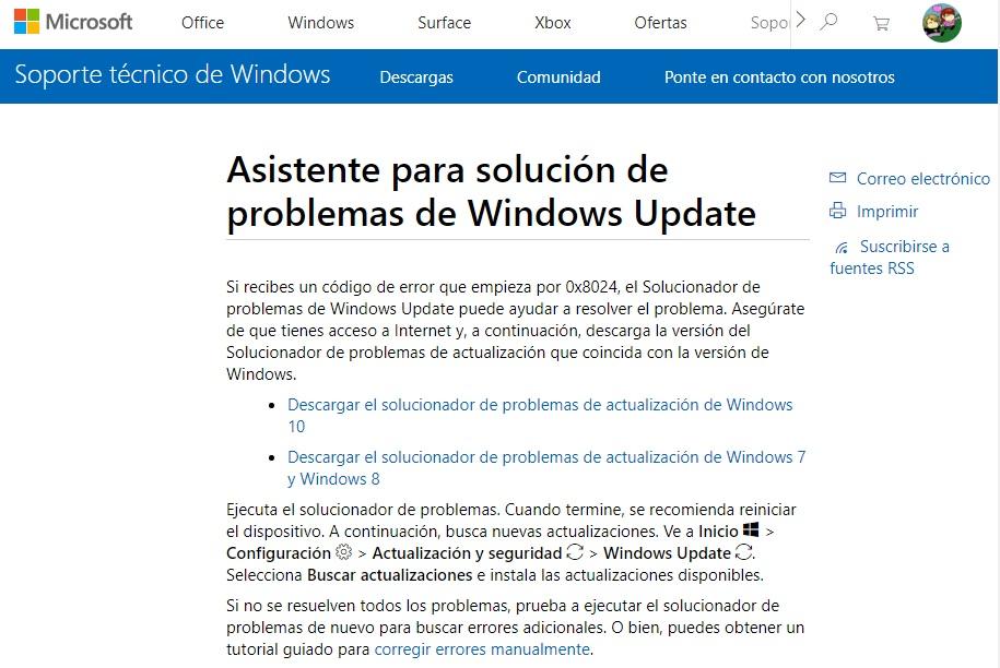 Solución al consumo de CPU de Windows Modules Installer Worker