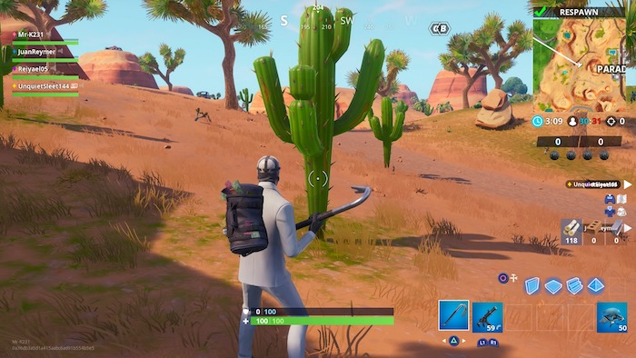 fortnite week 3 challenge guide cacti
