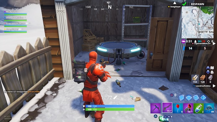 fortnite week 3 challenge guide traps