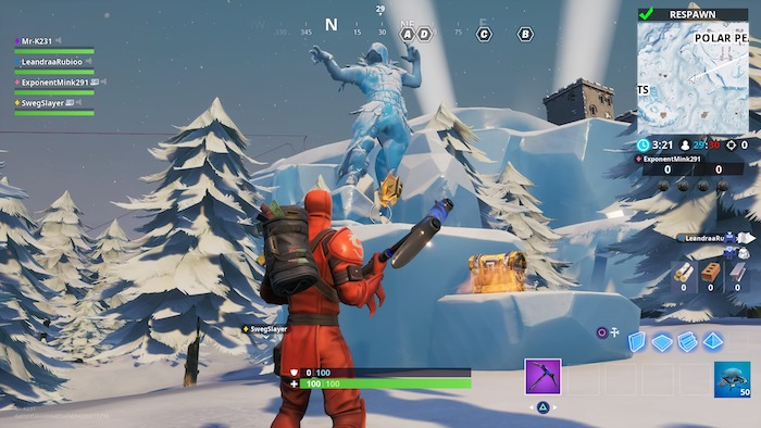fortnite season 8 week 3 challenge guide treasure hunt statues