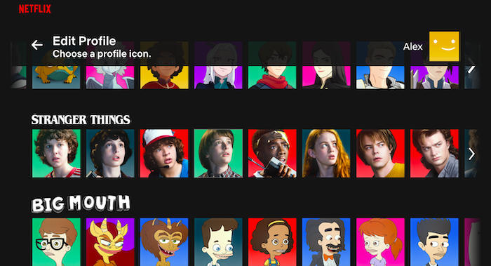 how to change netflix avatar step 4