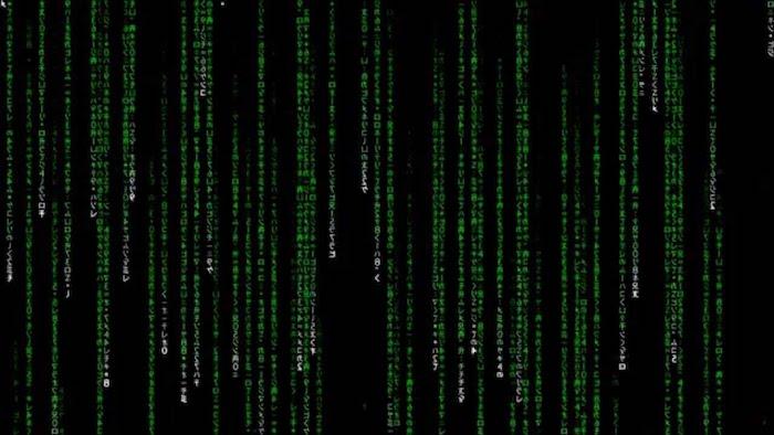 matrix digital rain code