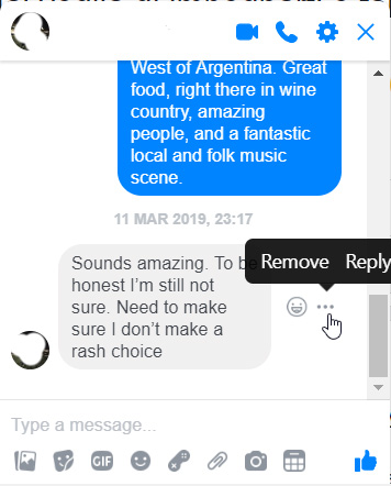 how to reply to messages on Facebook Messenger