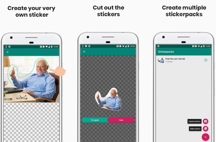 7 apps gratis para crear stickers de WhatsApp