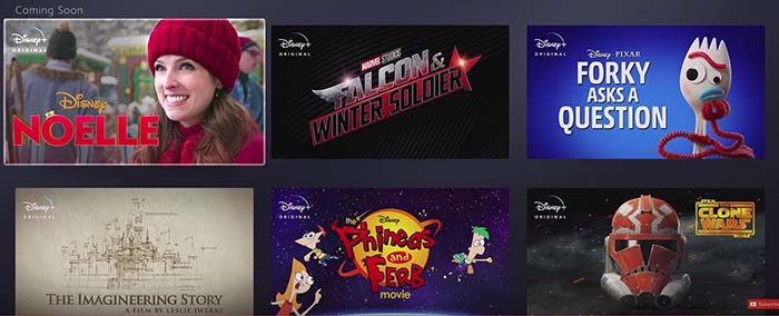 Disney+ projects