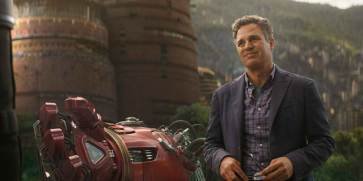 Mark Ruffalo revela el final alternativo de Hulk en 'Avengers: Infinity War'