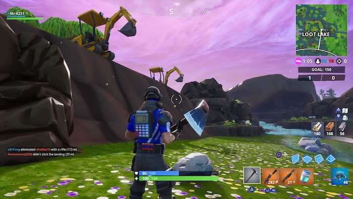- excavation sites fortnite