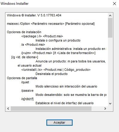Cómo solucionar errores con Windows Installer