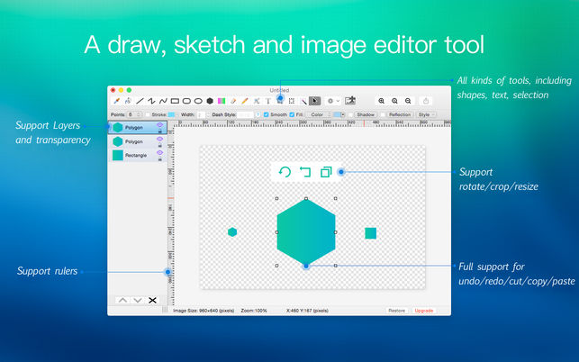 Alternativas gratis a Microsoft Paint para Mac
