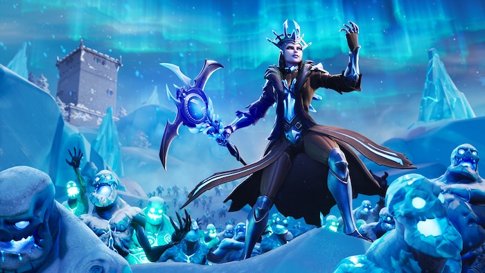 fortnite season 7 ice storm