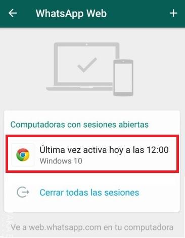 WhatsApp: Descubre si te están espiando desde WhatsApp Web