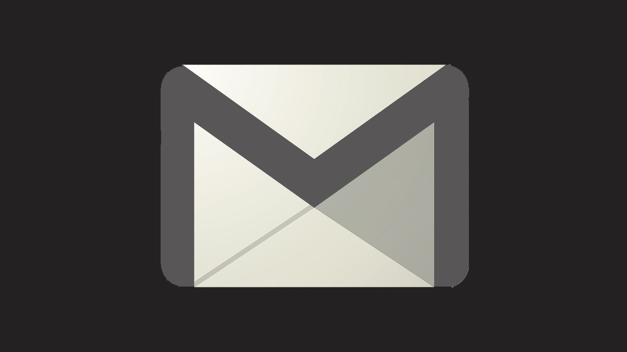 Gmail logo oscuro