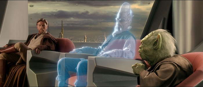 star wars prequels jedi council