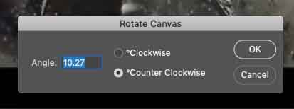 Rotate canvas