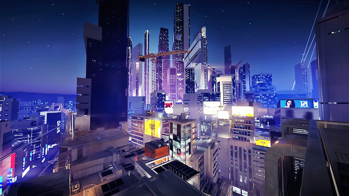 mirror's edge city