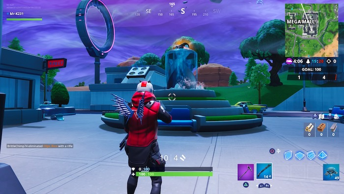 fortnite season 10 week 2 fountain